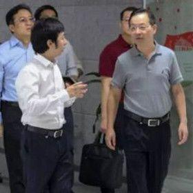 厦门市集美区委书记李钦辉一行领导莅临石秀才考察指导-石秀才